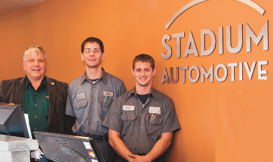 Have you met the staff of Stadium Automotive